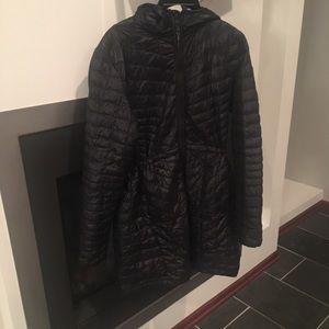 The North Face Women's XL Hooded Black Coat